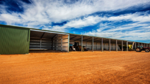 Open Bay Farm Sheds